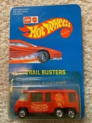 HOT WHEELS LEO INDIA GMC MOTOR HOME BRAND NEW SPIDERMAN RED