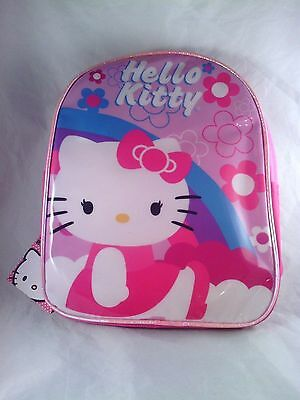 Hello Kitty Mini Backpack with Hood NEW! NWT 10.5