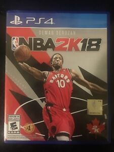 Nba2k18 for ps4