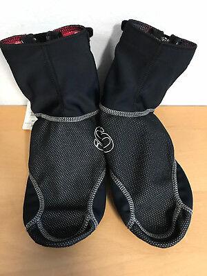 Pearl Izumi Cyclone Shoe Cover Überschuh black/grey Size M (39,5-42) NEU