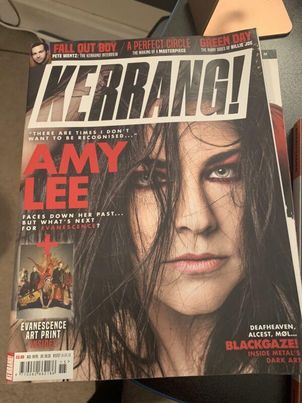 Evanescence Kerrang Amy Lee Magazine