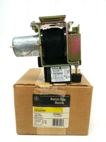 General Electric CR124Y0Y8 Magnetic Relay Coil
