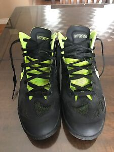 Nike Hyperfuse basketball shoes youth