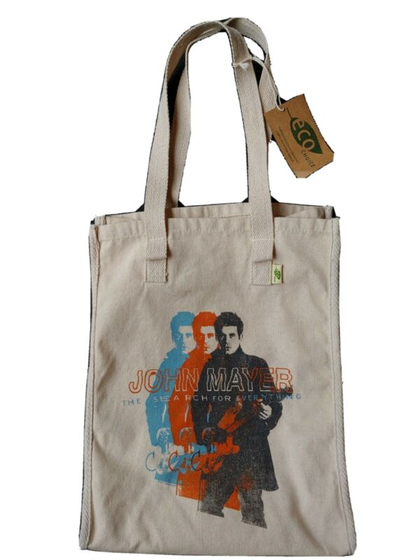 NEW JOHN MAYER TOTE BAG FROM 2017 TOUR The Search for Everything