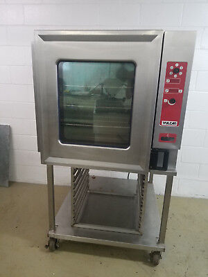Vulcan Vcgiof Combo Convection Oven With Steam 120 Volts 1 Phase Nat Gas Tested