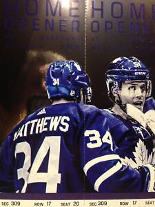 LEAFS HOME OPENER