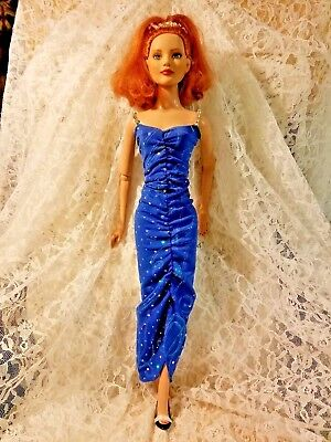 "Ooak Beautiful Gown To Fit 22"" American Model TONNER Doll"