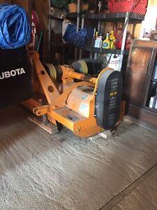 Berti 160 flail hammer mower for berries