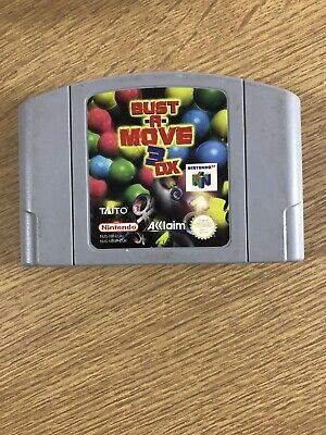 Bust A Move 3 DX N64 Nintendo 64 Cartridge Only PAL
