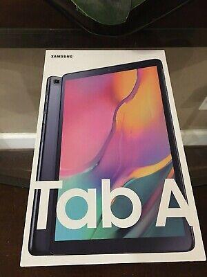 "Samsung SM-T510NZKAXAR Galaxy Tab A 10.1"" 32 GB Wifi Tablet Black 2019"