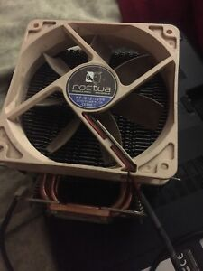 Giant air cooled heat sink AMD