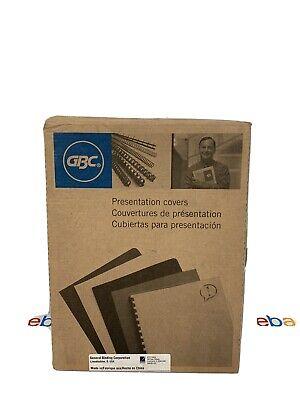 Gbc Presentation Covers 8.75 X 11.25 Cleartransparent
