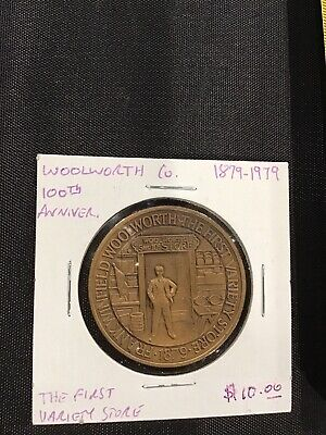 1879-1979 Woolworth Department Store 100th Anniversary Coin Token