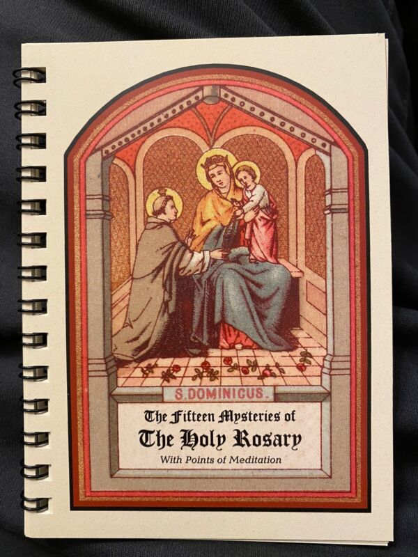 The 15 Mysteries of the Holy Rosary w/ Points of Meditation MyHolyCards