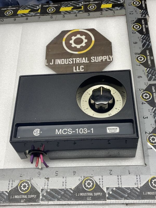 WARNER MCS-103-1 Speed Control_#MULTIPLE IN STOCK_GOOD TAKE-OUTS_FAST SHIPPING!