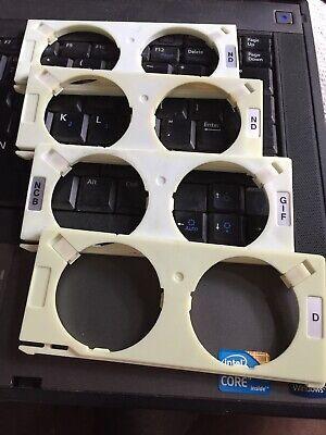 Nikon Tmd Diaphot Microscope 45mm Filter Holders Set Of 4
