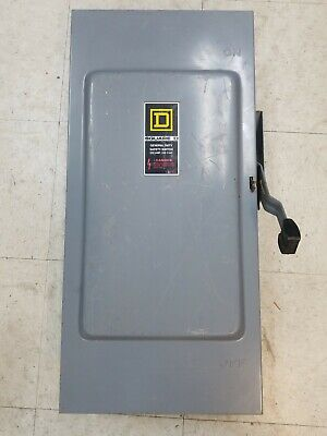 Square D Du324 Heavy Duty Non-fusible Safety Switch 200a 600vac Series E2