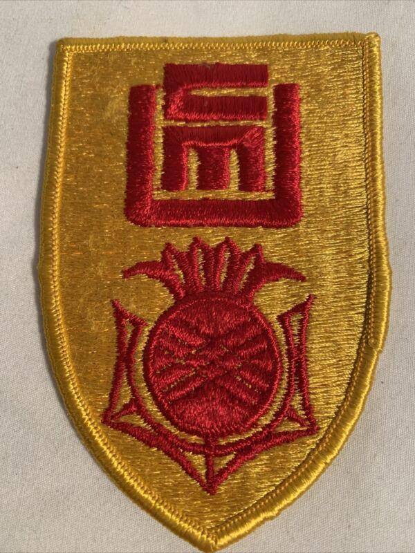 Carnegie Mellon University CMU ROTC Uniform Patch