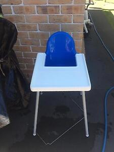 Blue high chair $15 Cabramatta West Fairfield Area Preview