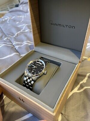 Hamilton Jazzmaster Automatic Movement Black Dial Men's Watch H42565131