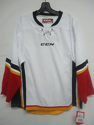 CCM YOUTH JUNIOR Calgary Flames Practice Jersey Medium 95b577f40