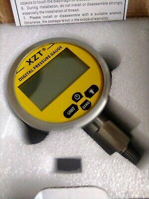 Xzt 3.15 Digital Hydraulic Pressure Gauge 10000psi700bar-14npt-base Entry