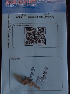 AIRES 7051 ACES II ejection seats Scale 1/72