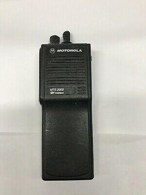 Motorola Mts2000 H01ucd6pw1bn 800mhz Two Way Radio