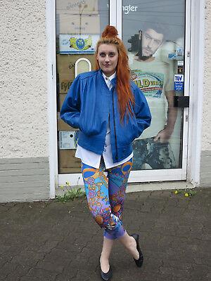Leggings Hose high waist bunt Motiv Schmuck 90er TRUE VINTAGE 90s colorful shiny