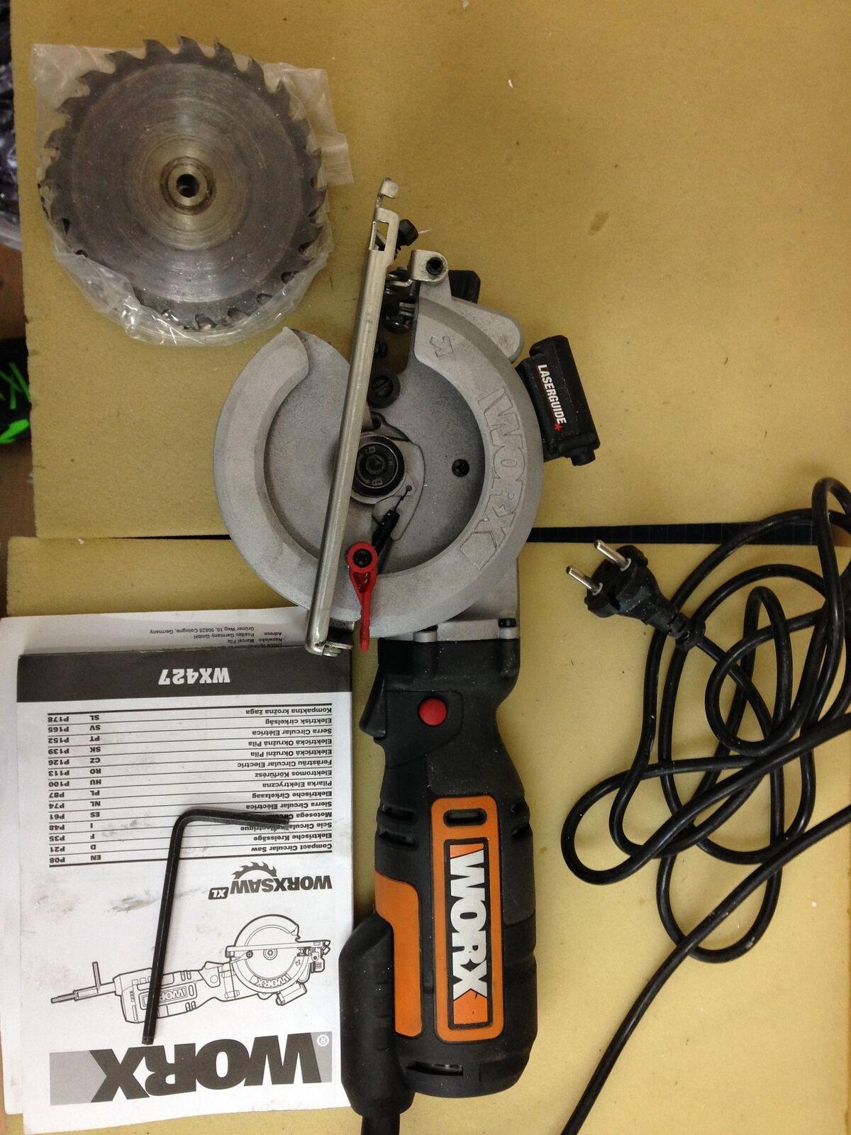 Worx WX427 710W Worxsaw XL Handkreissäge,  Rechnung V00535