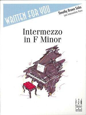 A Reverie Intermediate Piano Solo Sheet Music Beatrice Miller