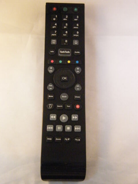 TalkTalk YouView Remote Control URC179250-02R00 for DN360T DN370T DN372T