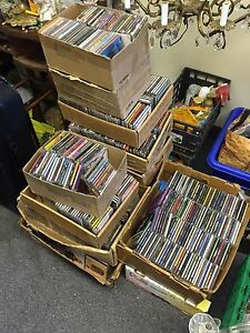 Lots of cd-s from 1990's negotiable