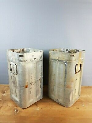Vintage 1950's Aluminium Military Ammunition Cases