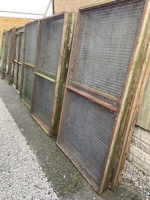Aviary/Cage panels 6x3 (11 of) + 3 Door Panels