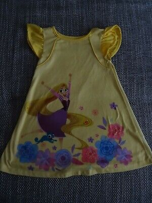 Disney Kleid *Rapunzel* gelb 104 kurzarm - Disney Rapunzel Kleid