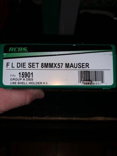 Rcbs full length 8mm x57 Mauser 2 die set 15901