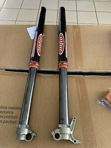 WP cone valve fork and trax shock