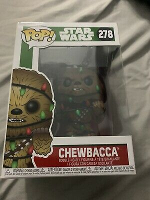 Star Wars Chewbacca Christmas Funko Pop