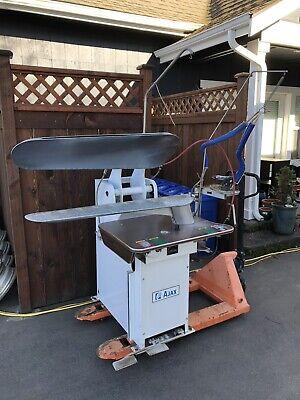 American Laundry Machinery Ajax Pants Press Presser Hou45 Dry Cleaning Machine
