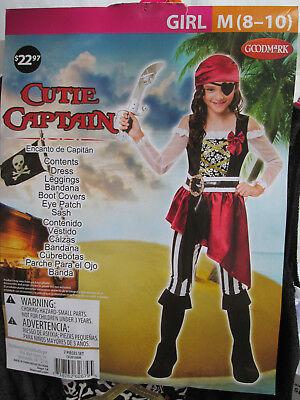 Captain Cutie Child Girls Costume Dress Pink Kids Sailor Paper Magic 769677