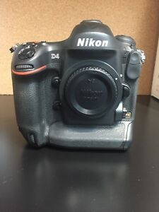 Nikon D4 body only with accessories