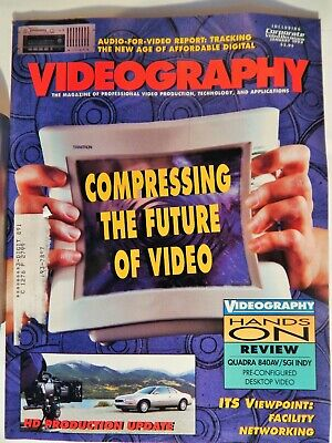 Hd Video Compression - VIDEOGRAPHY  MAGAZINE JAN 1994 VIDEO COMPRESSION, HD PRODUCTION, NETWORKING
