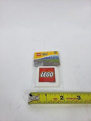 Lego City Movie Toy Game Mini Eraser - Red and White Lego Logo - Lego Halloween Games