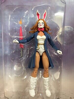 "2020 Marvel Legends 6"" Action Figure: White Rabbit NEW (loose: NO BAF)"