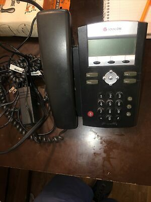Polycom Soundpoint Ip 331 Sip Voip Poe Desktop Business Office Phone