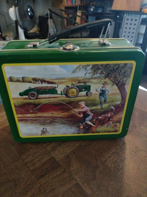 John Deere Lunch Box tin Imagination And Action