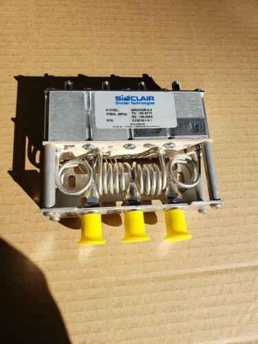 New Sinclair 150-174 MHz Notch Reject Mini-Duplexer