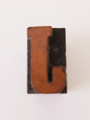 Letterpress J Letter Wood Type Printers Block Typography