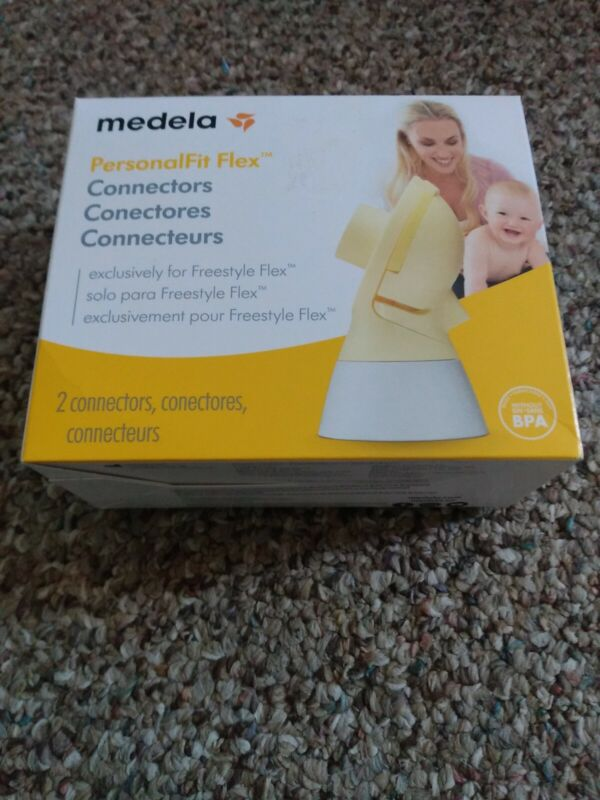 (NEW-SEALED) Medela PersonalFit Flex Connectors 2 Connectors Freestyle Flex